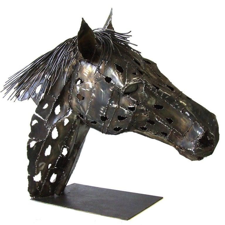 Appaloosa - Sculpture by Jean-François André