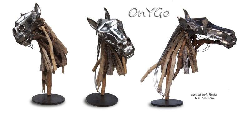 Jean-François André Figurative Sculpture - OnYgo