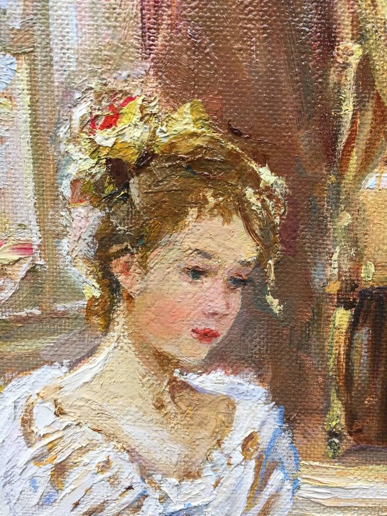 The Artist's Studio - Painting by Sergey Marchenko