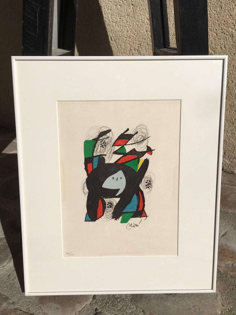 La Mélodie acide, model 8 - Print by Joan Miró