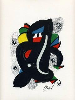 Joan Miró - La Mélodie acide, model 6