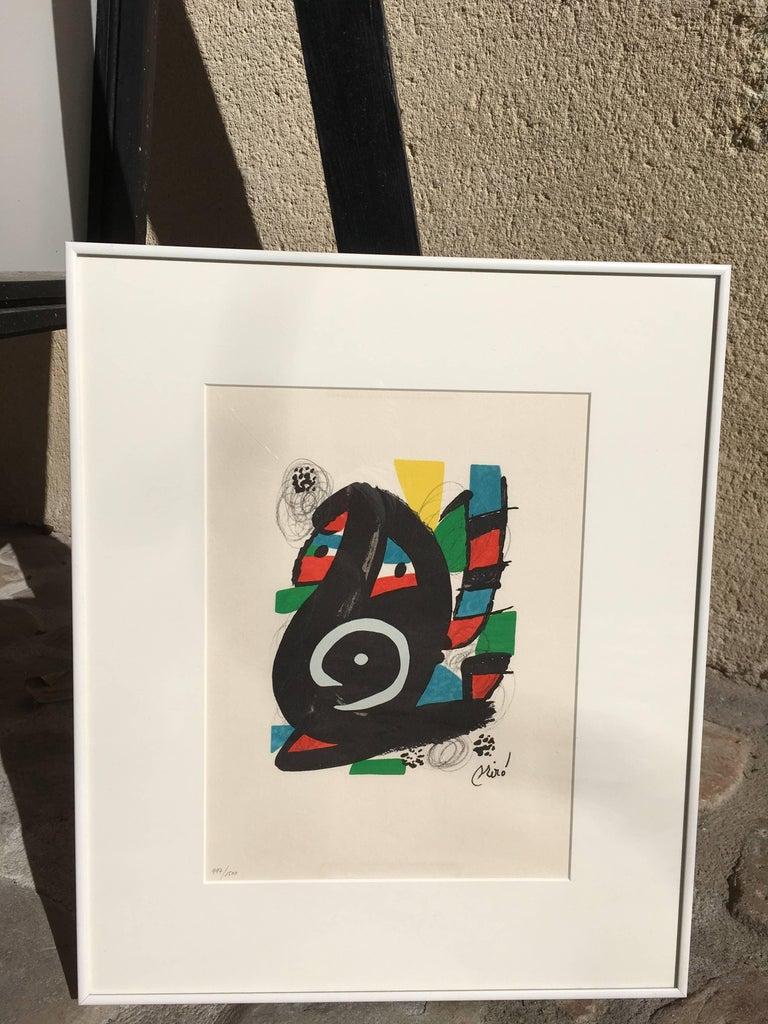 La Mélodie acide, model 14 - Print by Joan Miró