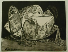 Pablo Picasso Le Crapaud (The Toad) (Bloch 0585) Lithograph