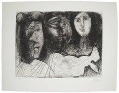 Autoportrait, avec Deux Femmes (Bloch 2016)