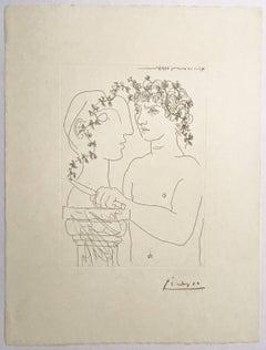 Jeune Sculpteur finissant un Plâtre (Bloch 156)