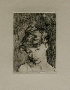 Pablo Picasso: Tête de Femme (Bloch 2)