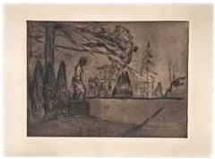 Hagen om Natten (The Garden at Night) (Woll 221)