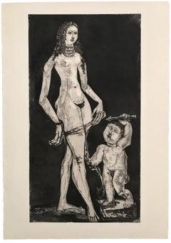 B1835 Venus et l'amour, d'après Cranach