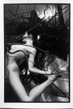 Leonard Freed, vintage, signed, gelatin silver, Kate #1, Kate series, 2002