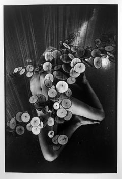 Kate #3, Vintage Gelatin Silver Abstract Photograph of Nude