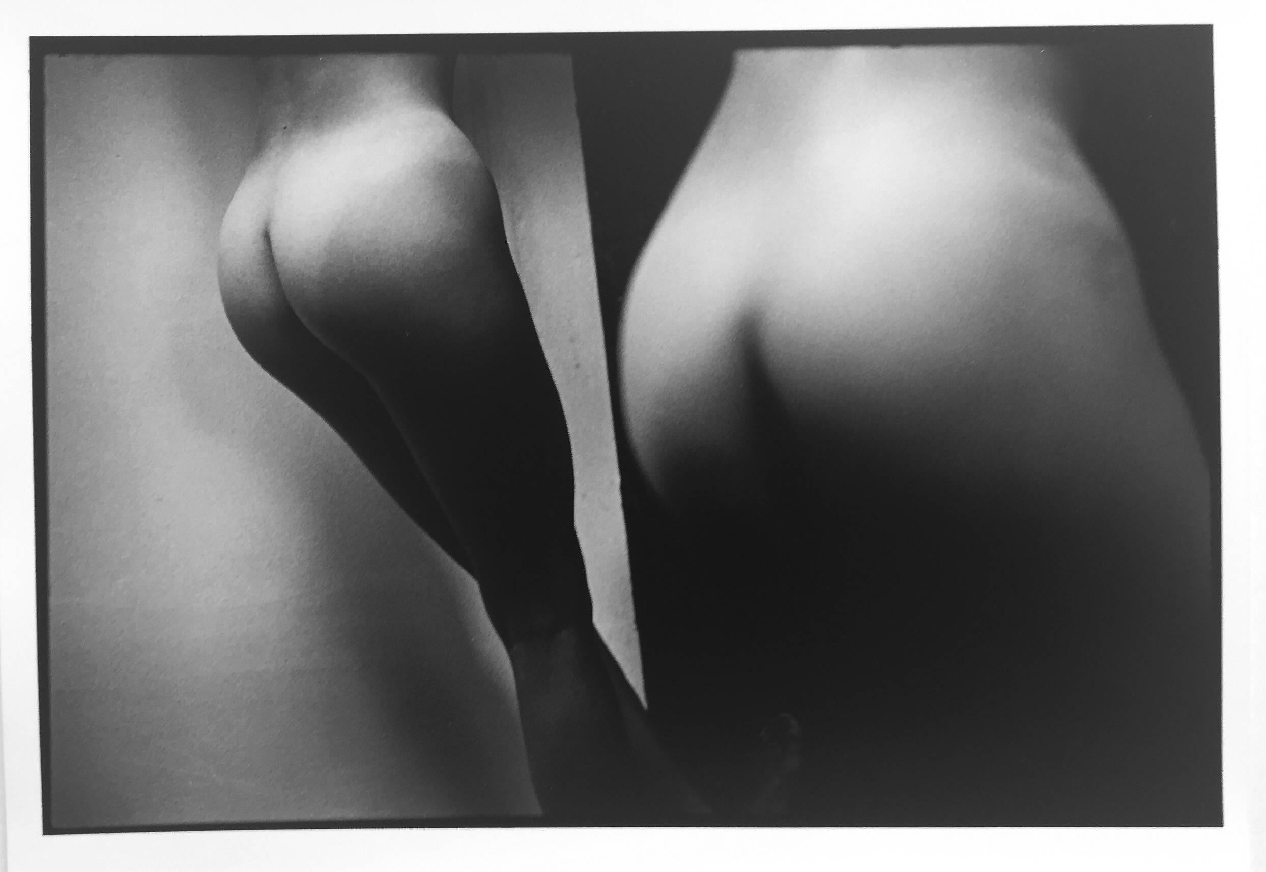 Kate #9, Vintage Black and White Photograph of Erotic Nude