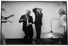 Office party, New York City, gelatin silver print, signed