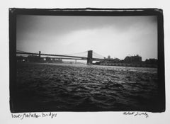 Roberta Fineberg, gelatin silver, Lower Manhattan Bridges, New York, 2004