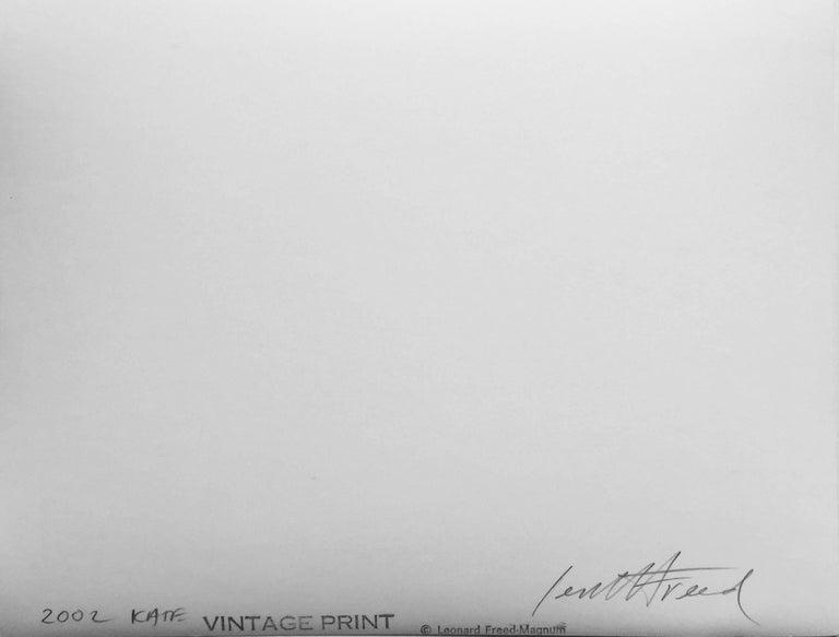 Kate #8, Kate series, vintage print, gelatin silver, signed 2