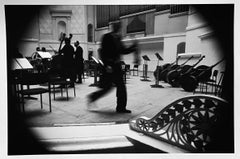 Rehearsal, Tchaikovsky Concert Hall, Moscow, Russia, gelatin silver, signed