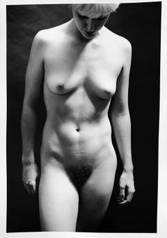 Alabaster Nude, New York, 1994 by Roberta Fineberg, gelatin silver print