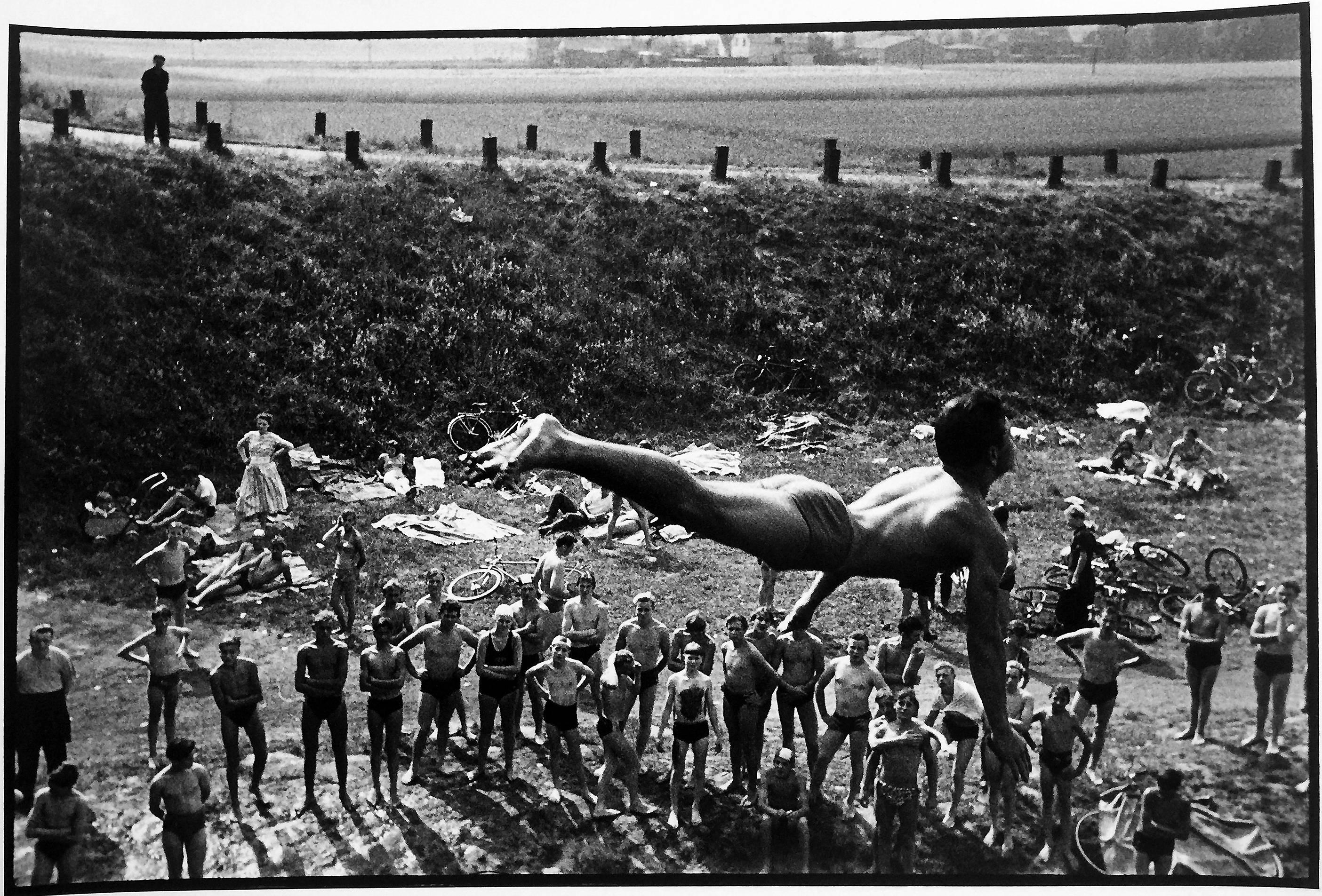 Leonard freed diver germany black and white figurative documentary photography