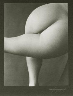 Nude #61, Platinum Print of Female Nude in Fine Art Series on Women and the Body