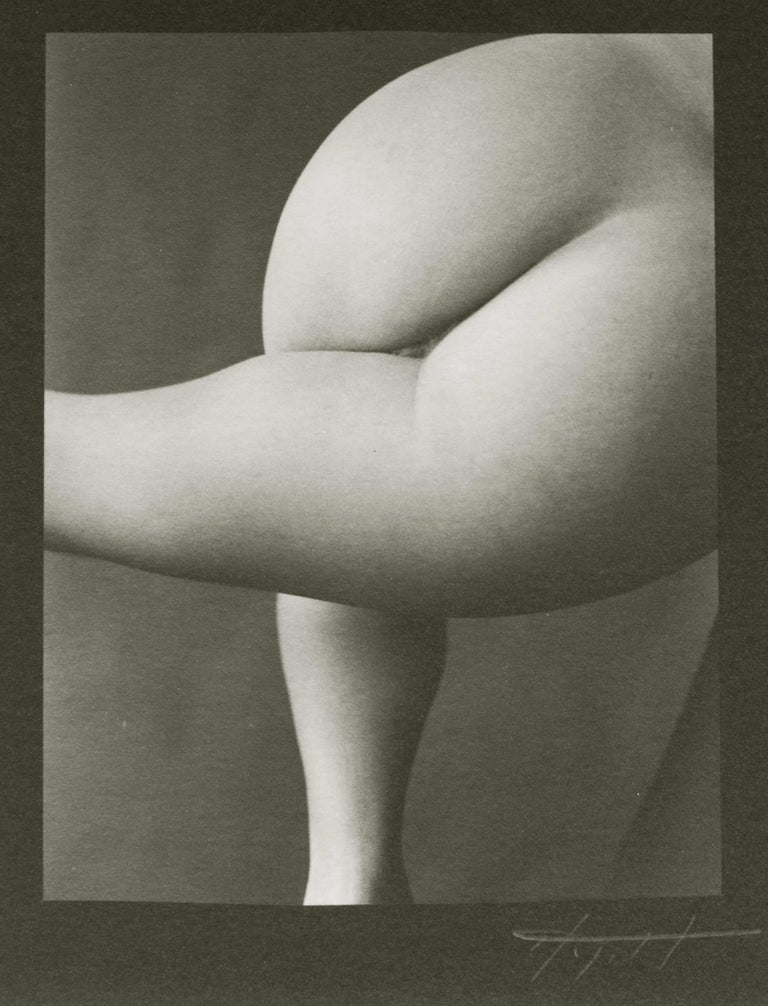Carl Hyatt Abstract Photograph - Nude #61, Platinum Print Nude Photography