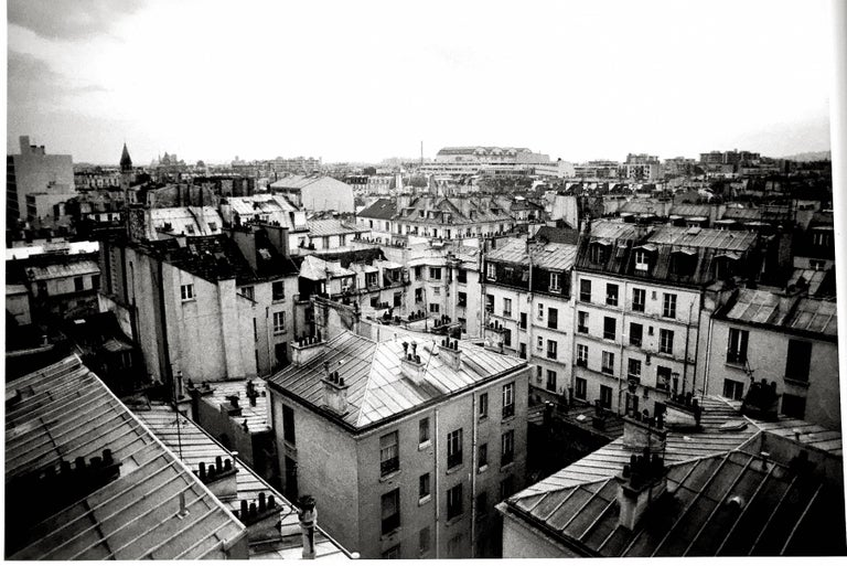 roberta fineberg parisian rooftops old paris gelatin silver signed photograph for sale at. Black Bedroom Furniture Sets. Home Design Ideas
