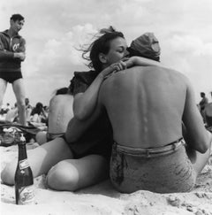 Coney Island Embrace, New York, gelatin silver, signed