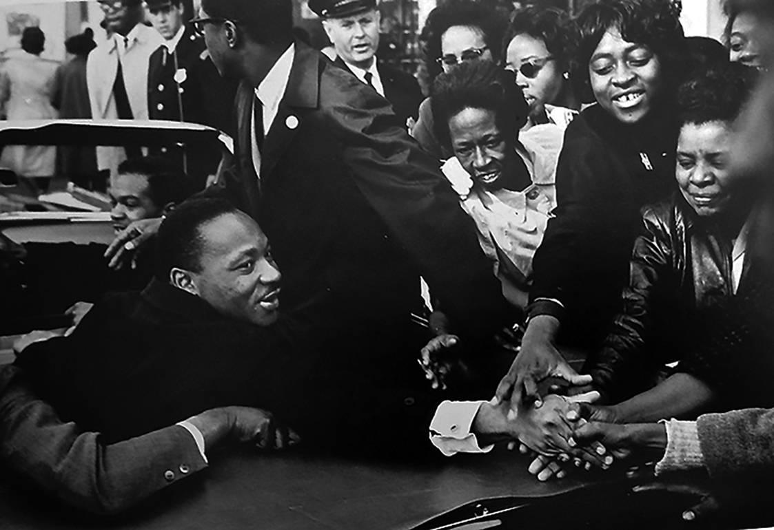 Martin Luther King, Vintage Gelatin Silver Photograph of MLK Civil Rights 1960s