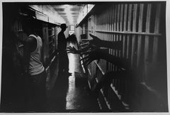 City Prison, New Orleans, Vintage Black and White Photograph 1960s Civil Rights