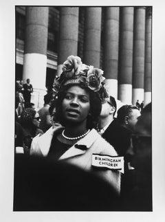 Birmingham Children, Civil Rights Movement, GSP, vintage print, signed