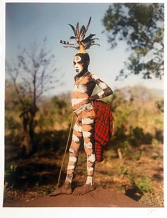 The Dandy, Surma boy, Omo Valley, Ethiopia, Africa