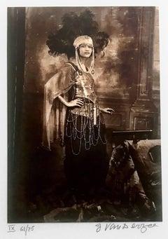 Dancer, Harlem, USA, toned gelatin silver print