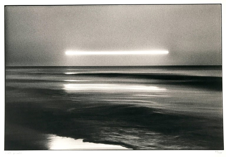 The Sun is Longing for the Sea, 1978, Japan, by Hiroshi Yamazaki, pigment print