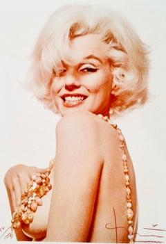 Marilyn Boob Smile by Bert Stern