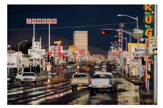 Ernst Haas Route 66 Albuquerque New Mexico By Ernst Haas Chromogenic Print  Photograph For Sale At 1stdibs