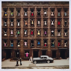 Girls in the Window, 1960 by Ormond Gigli, archival pigment print