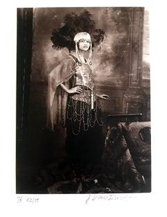 Dancer, Harlem, 1925, by James Van Der Zee, toned gelatin silver print