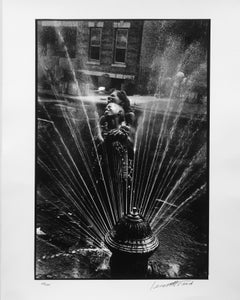 Fire Hydrant, Harlem, 1963, by Leonard Freed, signed and editioned