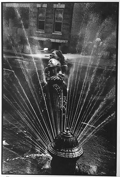 Fire Hydrant, Harlem, 1963, gelatin silver, signed by Leonard Freed