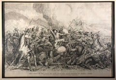 The Battle of Little Big Horn River (Custer Massacre, June 25 1876)