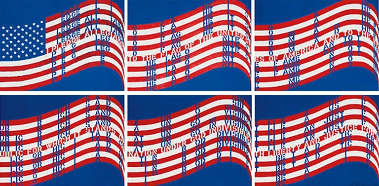 Wav(er)ing Flags, 1990, by Vito Acconci, offered by Gallery of the Masters