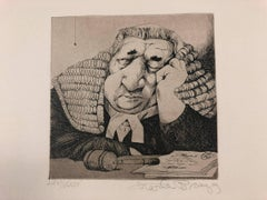 """Jurisprudence"" A Suite of Etchings by Charles Bragg"