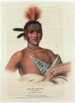 Moa-Na-Hon-Ga, Great Walker, An Ioway Chief