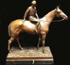 Jockey On Horseback