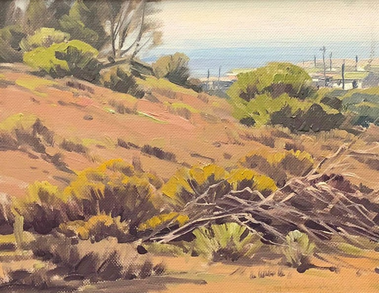 Above the Beach - Painting by Samuel Hyde Harris