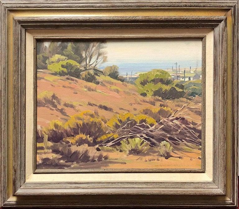 Samuel Hyde Harris Landscape Painting - Above the Beach