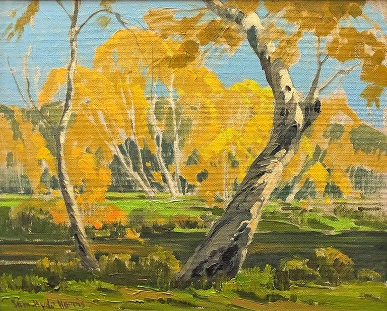Samuel Hyde Harris Landscape Painting - Autumn