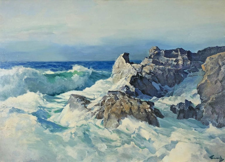 Frederick Judd Waugh Landscape Painting - Outermost Point
