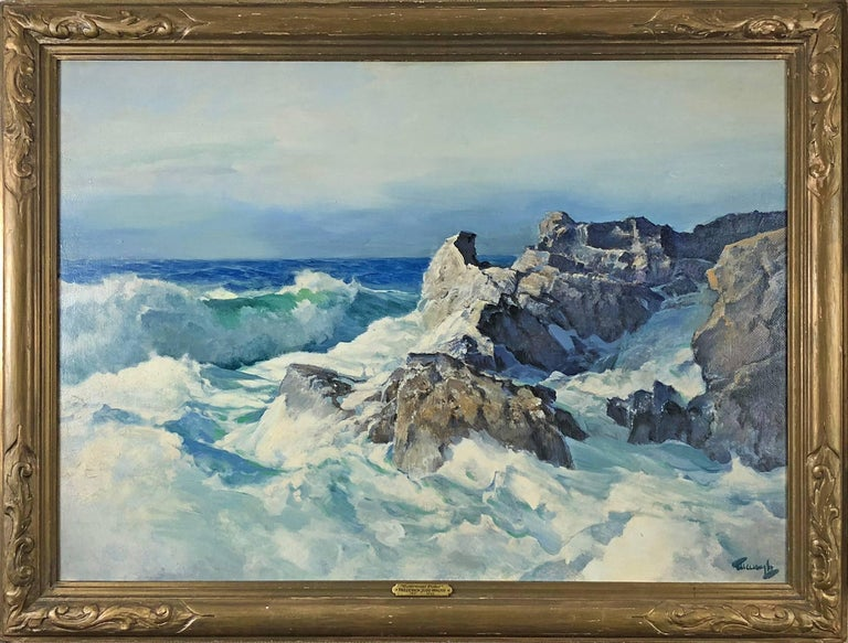 Outermost Point - Painting by Frederick Judd Waugh