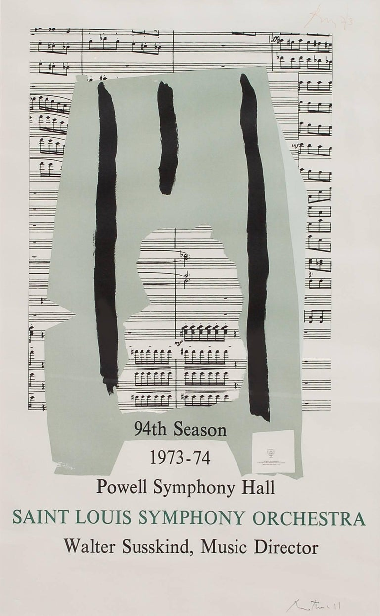St. Louis Symphony Orchestra (Poster) -- signed limited edition