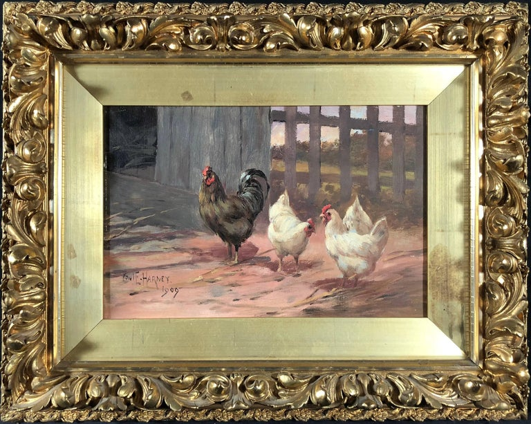 Feeding Time - Painting by Paul E. Harney Jr.