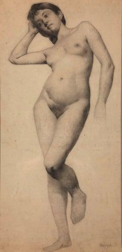 Standing Nude Portrait